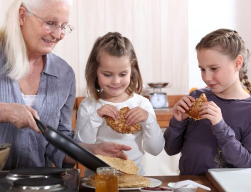 Tips on how to guide and share your culture with your grandchildren from your kitchen!