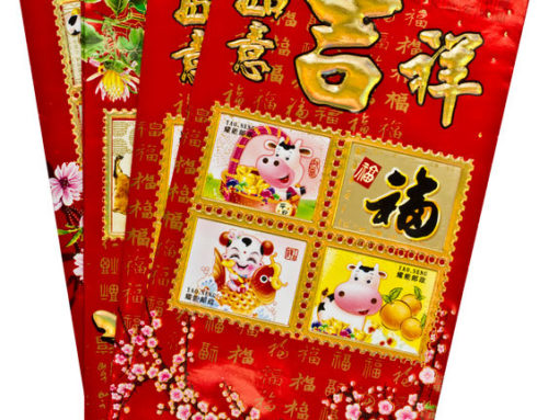 The rituals of giving and receiving red packets during Chinese New Year