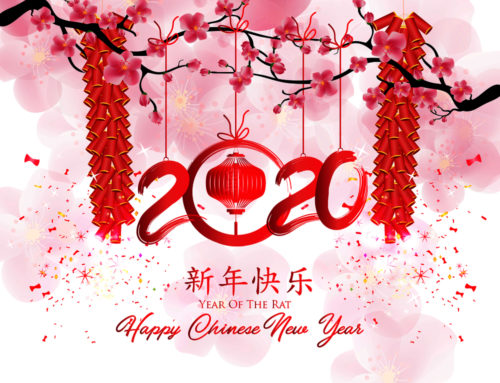 Happy Chinese New Year 2020 – the year of the rat!