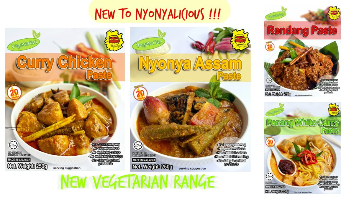 Little Nyonya Vegetarian pastes