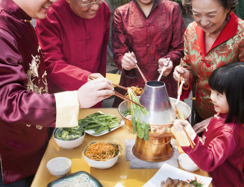 How to keep up the Chinese New Year traditions with your young family living in a new country?