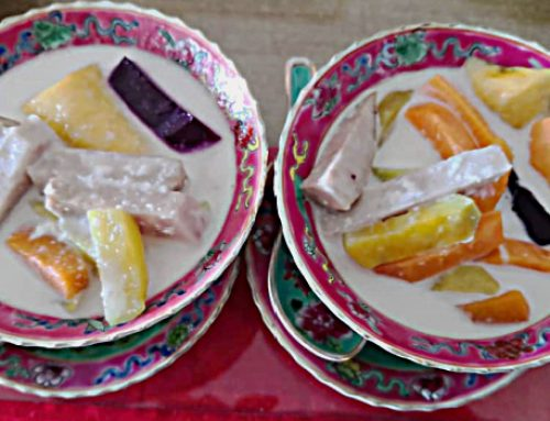 Pungat and Bubur Cha cha, are they similar?