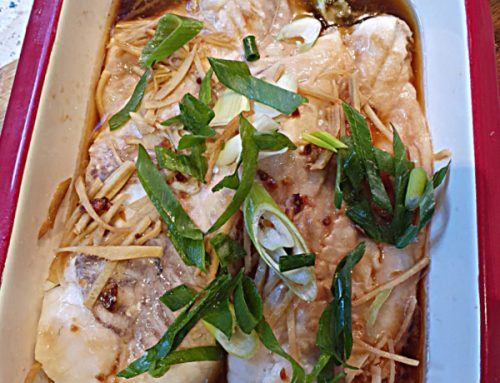 Quick and Easy Steamed Fish